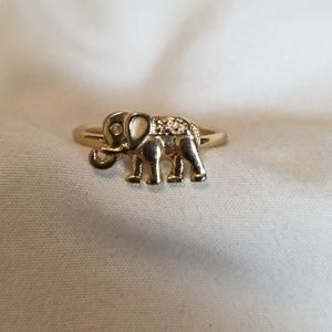 Jewelry - 3 for $20 Gold Tone Elephant Ring